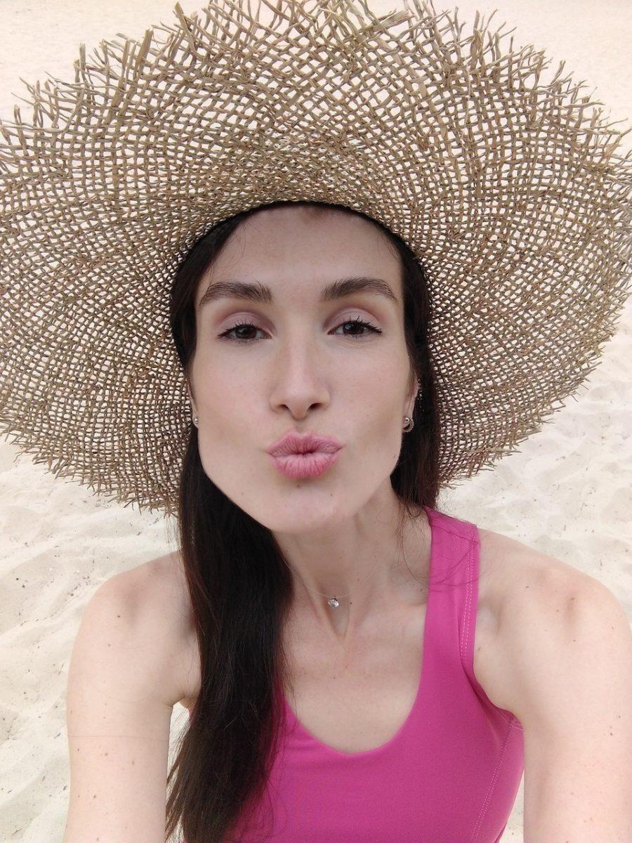Солом'яний капелюх Lady